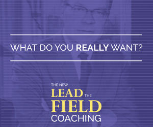 the new lead to field coaching